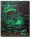 A new abstract Daily Painting: Textured Oil Painting - by AJ LaGasse