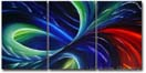 Commissioned Painting - 'BOUNDLESS PASSION'- 36 x 72 inches - LaGasse Abstract Art