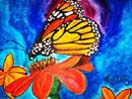 Monarch Butterfly- Watercolor Original