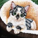 Puuurfection! - Tabby Cat Art