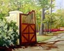 The Gate   Landscape oil