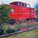 Train, Train, Take Me on Out of This Town, 20' x 20'