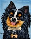 Daily Painting #210 - Diamond Girl - Chihuahua Dog Art