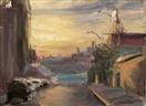 Williamsburg Sunset, '06 (click here to bid on this painting)