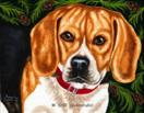A Walk in the Woods - Beagle Dog Art