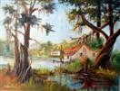 Bait Shop A Louisiana Bayou