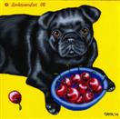 The Art of Bing - Pug Dog Painting