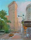 Flatiron Building in Summer
