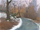 Path in Winter, Central Park