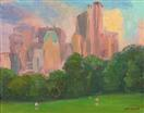 Sunset on Sheep Meadow