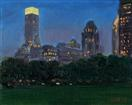 View from Sheep Meadow at Night