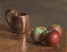 Apples with Copper Cup
