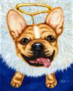 The Littlest Guardian Angel - French Bulldog