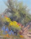 spring flowers in the desert oil ptg. by BECKY JOY