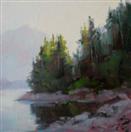 oil reflection study by BECKY JOY