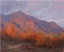 Superstitions at Dusk oil painting by BECKY JOY