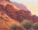 Finished Studio landscapes by BECKY JOY