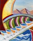 Daily Painters Blog - The Difference Engine 1042 - A Painting a Day by California Artist Mark A. Web