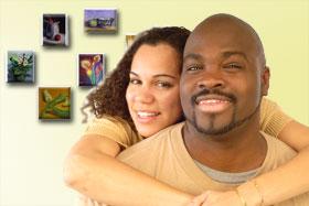 Testimonial, happy couple